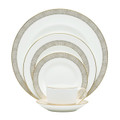 Vera Wang Wedgwood Gilded Weave 5-piece Place Setting 5C101207730