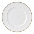Vera Wang Wedgwood Golden Grosgrain Dinner Plate 10.75 in 50108501004