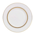 Vera Wang Wedgwood Golden Grosgrain Accent Plate 9 in 50108501005