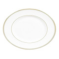 Vera Wang Wedgwood Golden Grosgrain Oval Platter 13.75 in 50108503001