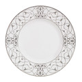 Vera Wang Wedgwood Imperial Scroll Accent Plate 9 in