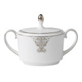 Vera Wang Wedgwood Imperial Scroll Sugar Bowl