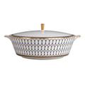 Wedgwood Renaissance Gold Covered Vegetable Bowl 5C102103102