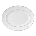 Wedgwood Signet Platinum Oval Platter 13.75 in 50167103001