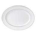 Wedgwood Signet Platinum Oval Platter 15.25 in 50167103002