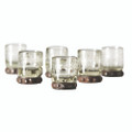 Jan Barboglio Zackshot Glass 2wx2dx3h in 5515CL