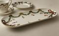 Royal Copenhagen Star Fluted Christmas Oval Serving Platter 15.5 in 1017444