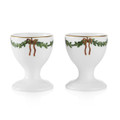 Royal Copenhagen Star Fluted Christmas Egg Cups (Set of 2) 1017458