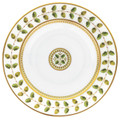 Bernardaud Constance Green Copucine Rim Soup Bowl 9 in