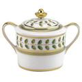 Bernardaud Constance Green Sugar Bowl