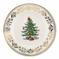 Spode Christmas Tree Gold Salad Plate 8 in 1557116