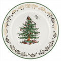 Spode Christmas Tree Gold Round Platter 12 in 1557253