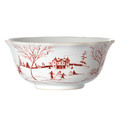 Juliska Country Estate Winter Frolic Ruby Cereal Bowl 13 oz CE07/73