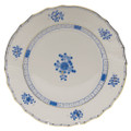 Herend Blue Garden Dinner Plate 10.5 in WB-3--01524-0-00