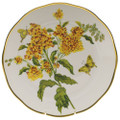 Herend American Wildflowers Dinner Plate Butterfly Weed 10.5 in FLA-BW20524-0-50