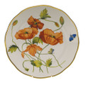Herend American Wildflowers Dinner Plate California Poppy 10.5 in FLA-PO20524-0-50