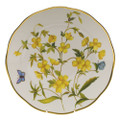 Herend American Wildflowers Dinner Plate Evening Primrose 10.5 in FLA-EP20524-0-50