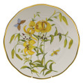 Herend American Wildflowers Dinner Plate Meadow Lily 10.5 in FLA-LI20524-0-50