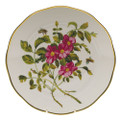 Herend American Wildflowers Dinner Plate Prairie Rose 10.5 in FLA-PR20524-0-50