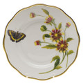 Herend American Wildflowers Salad Plate Indian Blanket Flower 7.5 in FLA-BF20518-0-00