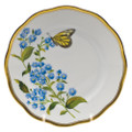 Herend American Wildflowers Bread and Butter Plate Blue Wood Aster 6 in FLA-AS20515-0-00
