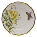 Herend American Wildflowers Bread and Butter Plate Meadow Lily 6 in FLA-LI20515-0-00