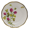 Herend American Wildflowers Bread and Butter Plate Red Clover 6 in FLA-CL20515-0-00