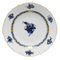 Herend Chinese Bouquet Black Sapphire Salad Plate 7.5 in AB3-X101518-0-00
