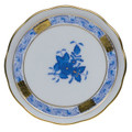Herend Chinese Bouquet Blue Coaster 4 in AB----00341-0-00