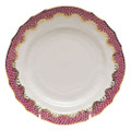 Herend Fish Scale Raspberry Bread and Butter Plate 6 in A-EPH-01515-0-00