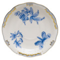 Herend Fortuna Blue Tea Saucer 6 in VBOB--00734-1-00