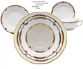 Herend Princess Victoria Brown 5-piece Place Setting