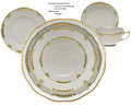 Herend Princess Victoria Green 5-piece Place Setting