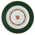 Bernardaud Grenadiers Green Drum Accent Plate