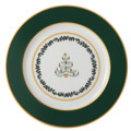 Bernardaud Grenadiers Green Tree Accent Plate
