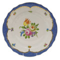 Herend Printemps with Blue Border Dinner Plate No.1 10.5 in BT-EB-01524-0-01