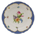 Herend Printemps with Blue Border Dinner Plate No.3 10.5 in BT-EB-01524-0-03