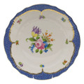 Herend Printemps with Blue Border Dinner Plate No.4 10.5 in BT-EB-01524-0-04
