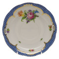 Herend Printemps with Blue Border Tea Saucer No.1 6 in BT-EB-00734-1-01