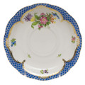 Herend Printemps with Blue Border Tea Saucer No.4 6 in BT-EB-00734-1-04