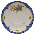 Herend Printemps with Blue Border Tea Saucer No.5 6 in BT-EB-00734-1-05