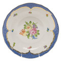 Herend Printemps with Blue Border Dessert Plate No.1 8.25 in BT-EB-01520-0-01