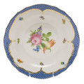 Herend Printemps with Blue Border Dessert Plate No.2 8.25 in BT-EB-01520-0-02