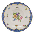 Herend Printemps with Blue Border Dessert Plate No.3 8.25 in BT-EB-01520-0-03
