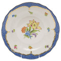 Herend Printemps with Blue Border Dessert Plate No.5 8.25 in BT-EB-01520-0-05