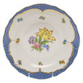Herend Printemps with Blue Border Dessert Plate No.6 8.25 in BT-EB-01520-0-06