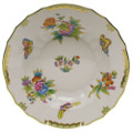 Herend Queen Victoria Rim Soup 9.5 in VBO---01503-0-00