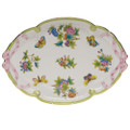 Herend Queen Victoria Ribbon Tray 15.75x11 in VBO---00400-0-00