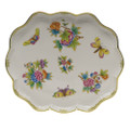 Herend Queen Victoria Scallop Tray 11.25x9.5 in VBO---00420-0-00