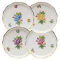 Herend Queen Victoria Coaster Set of Four 4 in LVF---00341-0-SET